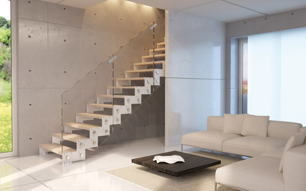 Rintal escaleras de dise o a tu alcance santafosta - Scale in muratura per interni ...