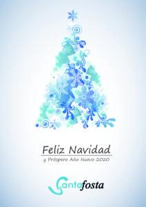 Feliz Navidad 2019 Santafosta