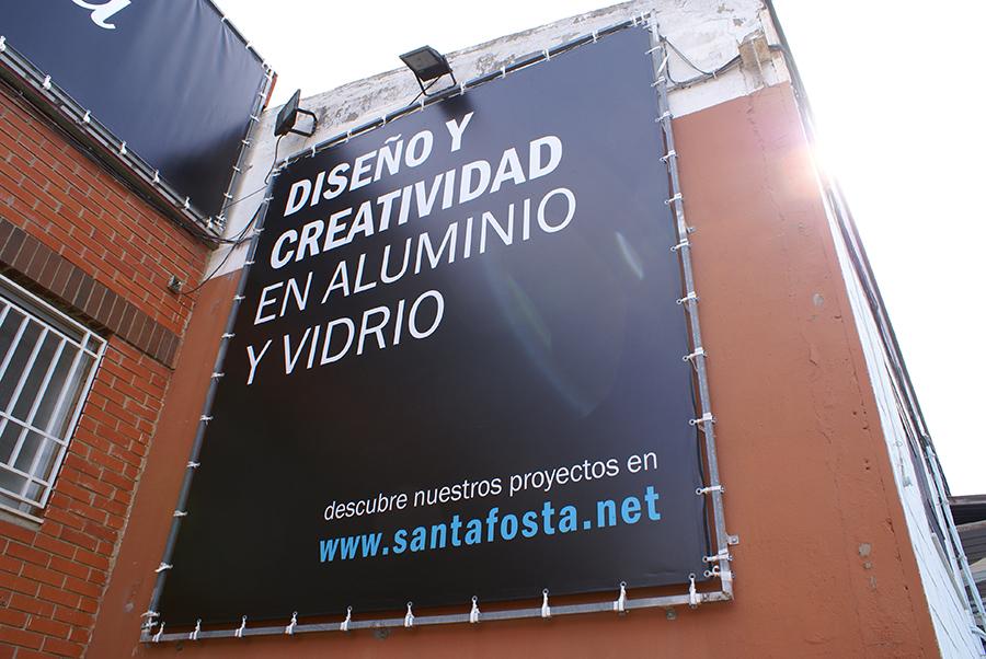 Santafosta - nave nueva rotulo